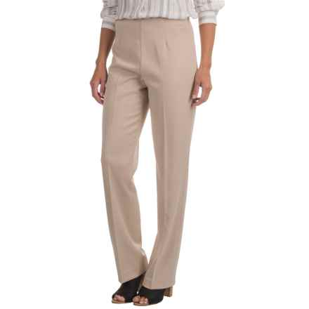 Pendleton Side-Zip Pants (For Women) in Beige - Closeouts