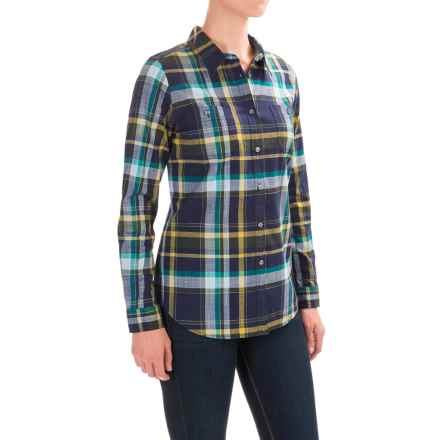 Pendleton Sierra Plaid Shirt - Long Sleeve (For Women) in North Coast Plaid  -