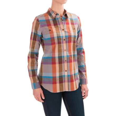 Pendleton Sierra Plaid Shirt - Long Sleeve (For Women) in Sunset Canyon Plaid - Closeouts