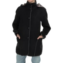 Pendleton Signature Mercer Swing Coat (For Women) in Black - Overstock