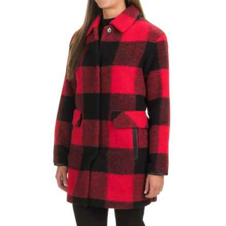 Pendleton Signature Paul Bunyan Coat - Wool Blend (For Women) in Red/Black - Closeouts