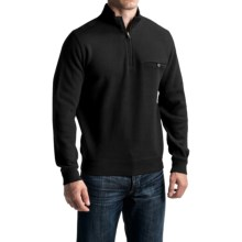 Pendleton Siletz Bay Sweater - Zip Neck (For Men) in Black - Closeouts