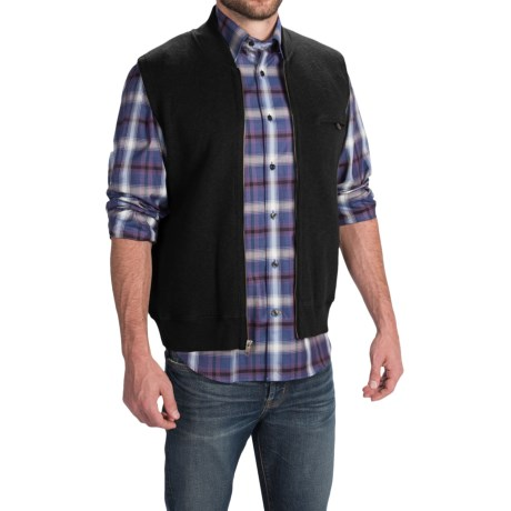 Pendleton Siletz Bay Vest - Full Zip (For Men) in Black