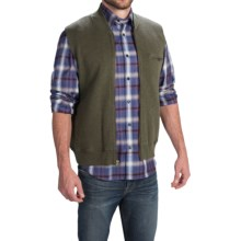 Pendleton Siletz Bay Vest - Full Zip (For Men) in Yakima Green Heather - Closeouts