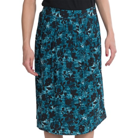 Pendleton Silk Sweetheart Skirt (For Women) in Blue/Black