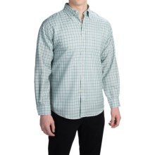 Pendleton Sir Pendleton Button-Down Shirt - Worsted Wool, Long Sleeve (For Men) in Aqua Mini Check - Closeouts