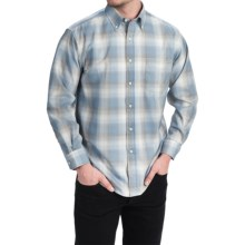 Pendleton Sir Pendleton Button-Down Shirt - Worsted Wool, Long Sleeve (For Men) in Blue/Silver Ombre - Closeouts