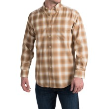 Pendleton Sir Pendleton Button-Down Shirt - Worsted Wool, Long Sleeve (For Men) in Bronze/Tan Ombre - Closeouts