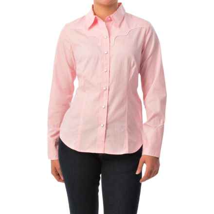 Pendleton Snap-Front Woven Shirt - Long Sleeve (For Women) in Pink - Closeouts