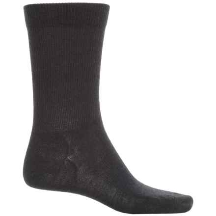 Pendleton Solid Trouser Socks - Merino Wool Blend (For Men and Women) in Black - Closeouts