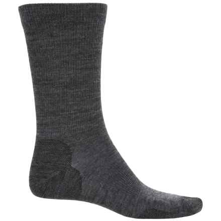 Pendleton Solid Trouser Socks - Merino Wool Blend (For Men and Women) in Charcoal - Closeouts