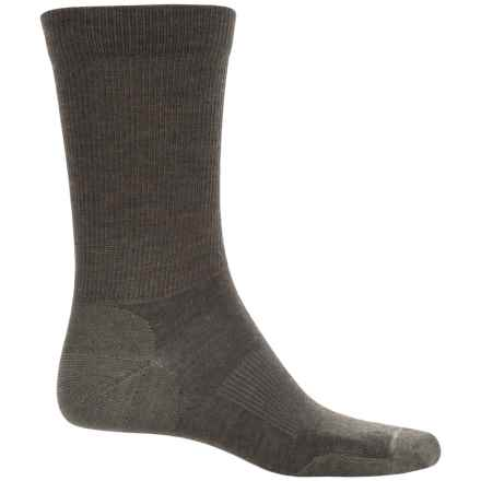 Pendleton Solid Trouser Socks - Merino Wool Blend (For Men and Women) in Olive/Green - Closeouts
