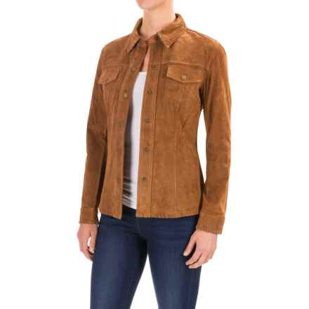 Pendleton Sonora Jacket - Suede (For Women) in Sand Suede - Closeouts