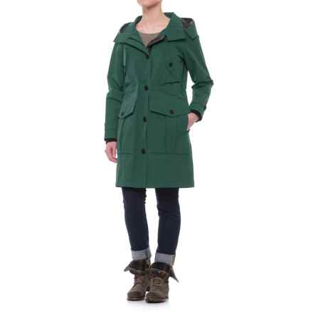 Pendleton Spokane Long Rain Jacket - Waterproof (For Women) in Ponderosa Pine - Closeouts