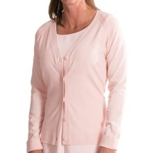 Pendleton Stacey Silk Blend Cardigan (For Women) in Pearl Blush - Closeouts