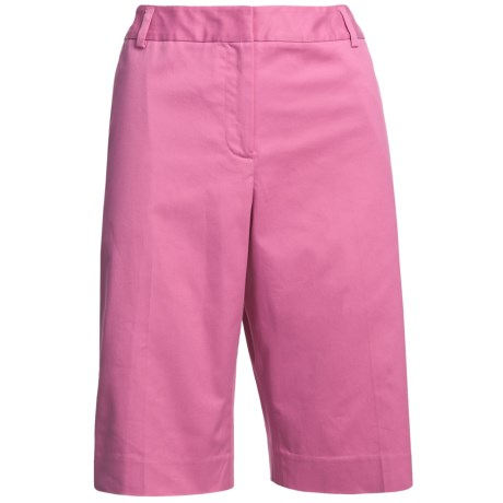 Pendleton Sunnyside Stretch Cotton Shorts (For Women) in Ibis Rose