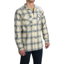 Pendleton Surf Fitted Board Shirt - Long Sleeve (For Men) in Yellow/Tan/Grey Ombre - Closeouts