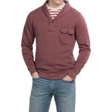 Pendleton Surf Fleece Pullover Shirt - Shawl Collar, Long Sleeve (For Men) in Red - Closeouts