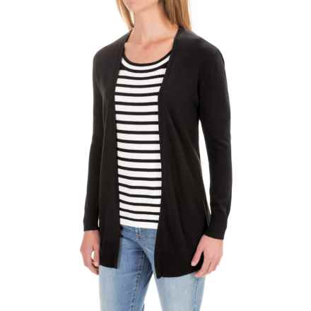 Pendleton Sylvan Cardigan Sweater (For Women) in Black - Closeouts