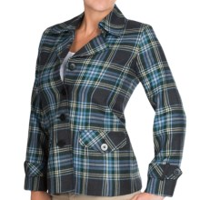 Pendleton Sylvan Jacket - Wool Flannel (For Women) in Charcoal Mix - Closeouts