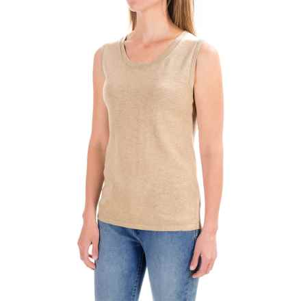 Pendleton Sylvan Knit Top - Sleeveless (For Women) in Oxford Tan - Closeouts