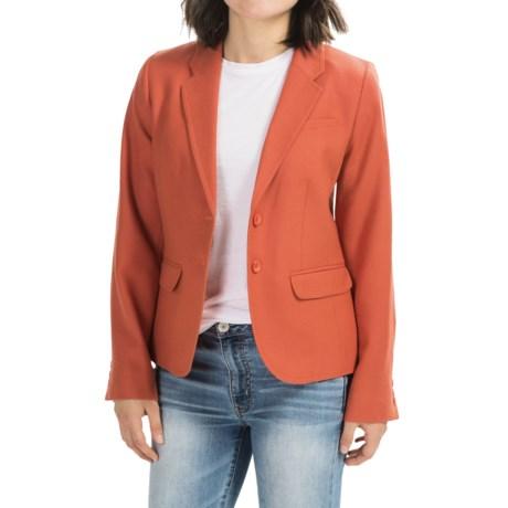 Pendleton Take Shape Blazer - Worsted Wool Flannel (For Women) in Autumn Glaze
