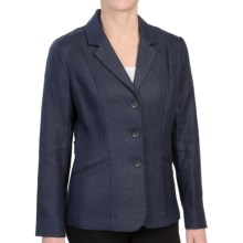 Pendleton Tara Linen Jacket (For Women) in Indigo - Closeouts