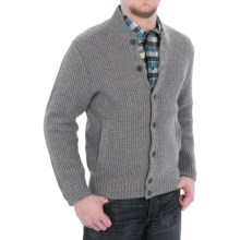 Pendleton The Clark Cardigan Sweater - Button Front (For Men) in Charcoal - Closeouts