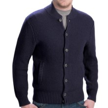Pendleton The Clark Cardigan Sweater - Button Front (For Men) in Navy - Closeouts