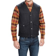 Pendleton Thicket Vest - Wool, Snap Front (For Men) in Charcoal Mix - Closeouts