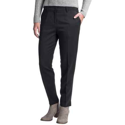 Pendleton Three-Pocket Stretch Wool Pants (For Women) in Black - Closeouts