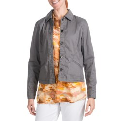 Pendleton Three-Quarter Time Jacket - Stretch Cotton (For Women) in Bright Gold
