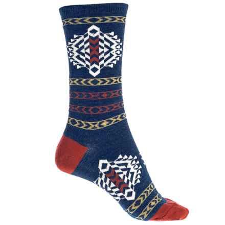 Pendleton Tolovana Socks - Merino Wool, (For Women) in Navy - Closeouts