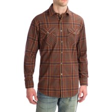 Pendleton Tracker Shirt - Brushed Chambray, Long Sleeve (For Men) in Brown - Closeouts