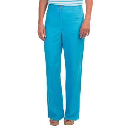 Pendleton Tradewind 7-Day Linen/Rayon Pants (For Women) in Carolina Blue - Closeouts
