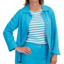 Pendleton Tradewind Linen-Rayon Jacket (For Women) in Carolina Blue - Closeouts