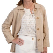 Pendleton Tradewind Linen-Rayon Jacket (For Women) in Oxford Tan - Closeouts