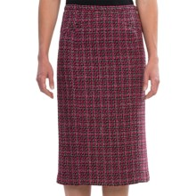 Pendleton Trina Slim Tweed Skirt (For Women) in Black/Pink - Closeouts