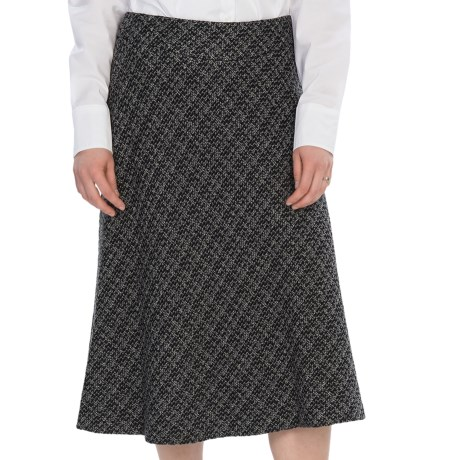 Pendleton Trina Tweed Soft Skirt (For Women) in Black/Grey