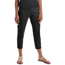 Pendleton Trudy Capris - Stretch Sateen (For Women) in Black - Closeouts
