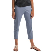 Pendleton Trudy Capris - Stretch Sateen (For Women) in Blue Ash - Closeouts