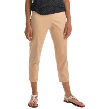 Pendleton Trudy Capris - Stretch Sateen (For Women) in Spring Khaki - Closeouts