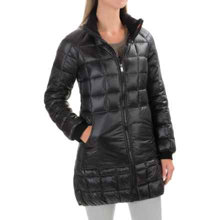 Pendleton Tucson Long Down Coat - 600 Fill Power (For Women) in Black - Closeouts