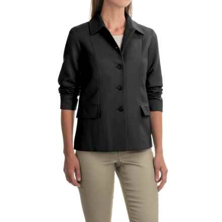 Pendleton Two-Pocket Solid Wool Jacket (For Women) in Black - Closeouts