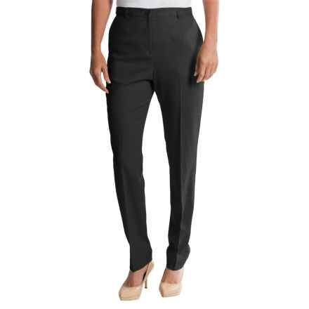 Pendleton Ultra 9 Stretch Wool Trousers - True Fit Slim (For Women) in Black - Closeouts