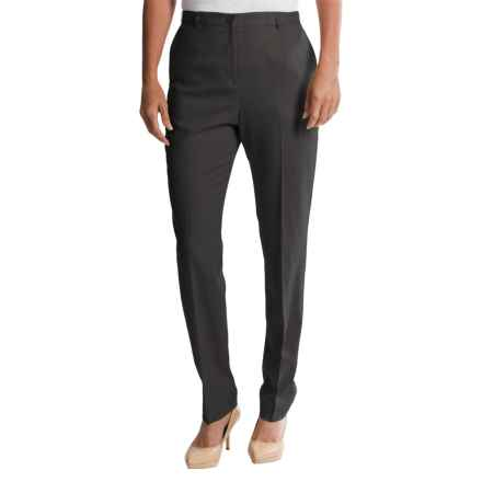 Pendleton Ultra 9 Stretch Wool Trousers - True Fit Slim (For Women) in Charcoal - Closeouts