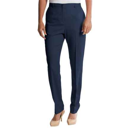 Pendleton Ultra 9 Stretch Wool Trousers - True Fit Slim (For Women) in Navy - Closeouts