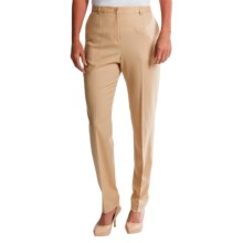 Pendleton Ultra 9 Stretch Wool Trousers - True Fit Slim (For Women) in Spring Khaki - Closeouts