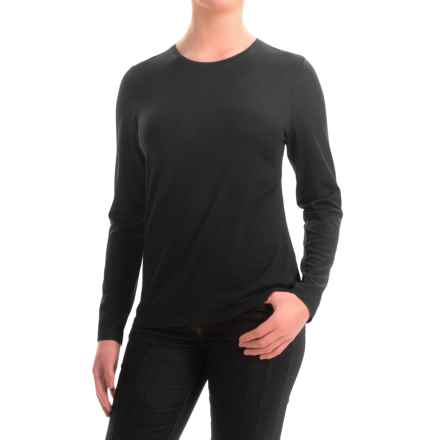 Pendleton Ultralight Merino Wool Sweater - Jewel Neck (For Women) in Black - Closeouts