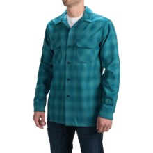 Pendleton Umatilla Wool Shirt - Fitted, Long Sleeve (For Men) in Turquoise Ombre - Closeouts